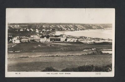 The Village Port Eynon Pub Frith Ref Pe 15 Used 195? Could Be 1958