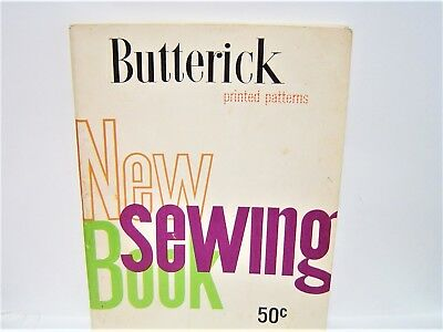 1956 BUTTERICK printed patterns NEW SEWING BOOK