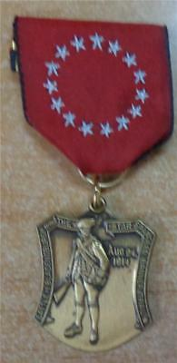 Boy Scout Trail Medal Battle of Bradensburgh Star Spangles Banner Trail
