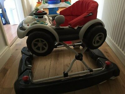Car Themed Baby Walker + Musical Activity Toy