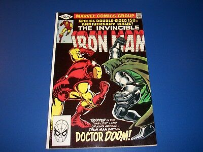 Iron Man #150 Bronze Age Dr. Doom Solid VF- Beauty Great cover