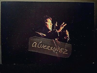 Elvis Presley Original Concert Photograph - Lakeland Fl - April 27 1975