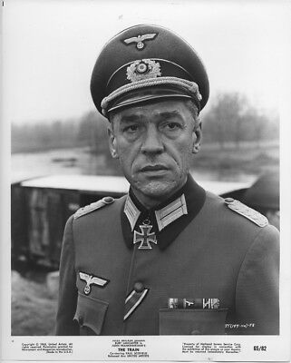 Paul Scofield original 1965 photo in German uniform The Train