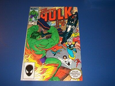 Incredible Hulk #300 Bronze Age Black Spider-man Avengers NM Gem