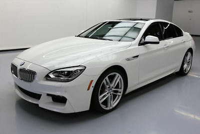 2015 BMW 6-Series Base Sedan 4-Door 2015 BMW 650I GRAN COUPE M SPORT EDITION NAV HUD 19K MI #B99435 Texas Direct