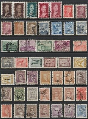 Argentine Stamps - Singles - Used - Lot F-30