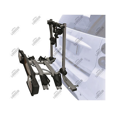 Porta 2 Bici Auto Peruzzo Smart Fortwo Rack Deluxe Rear Bike Carrier Aluminum