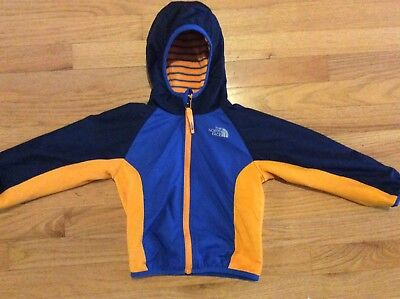 THE NORTH FACE Zip Up Hooded JACKET *Reversible* Infant/Toddler 18-24M