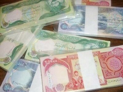 25,000 Iraqi Dinar w 106 day option (2/2/18) reserve cert for 9,000,000 more.