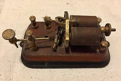 Vintage Western Union Telegraph Relay Sounder WUTLE CO.
