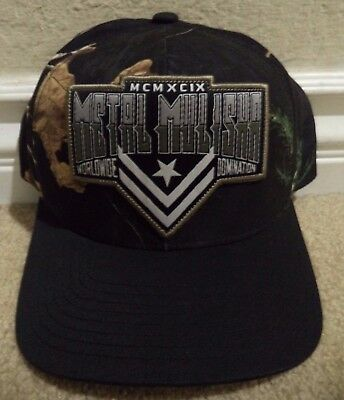 NEW METAL MULISHA Boxed Curved Mens Camo Snapback Hat Cap -  25.95 ... 1094945d2081