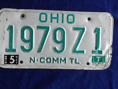 Ohio License Plate 2005 979 Z1 N. Commm Tl  Usa Shop Man Cave Sign