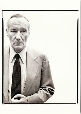 William S. Burroughs in 1975 by Richard Avedon Postcard