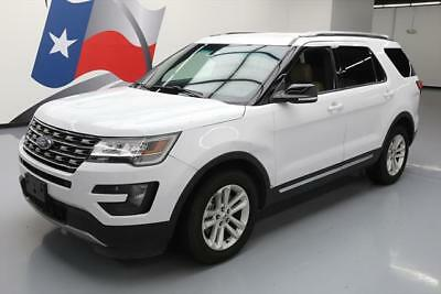 2016 Ford Explorer  2016 FORD EXPLORER XLT 7-PASS BLUETOOTH REAR CAM 33K MI #B05296 Texas Direct