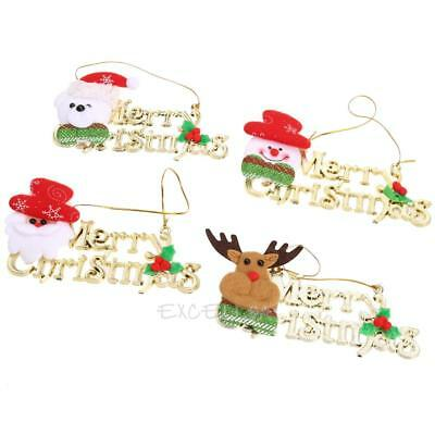 4 X Christmas supplies Christmas decorations Christmas strap E0Xc