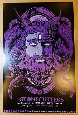 2011 The Stonecutters - Lansing Digital Concert Poster by Craig Horky
