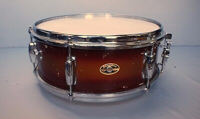 RARE vintage 1964 Slingerland Duco Red/Gold 5x14 Snare Drum VERY NICE!