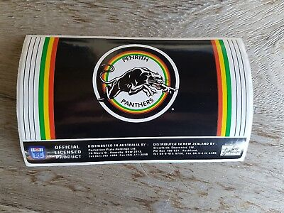 1990's Penrith Panthers rugby league sticker