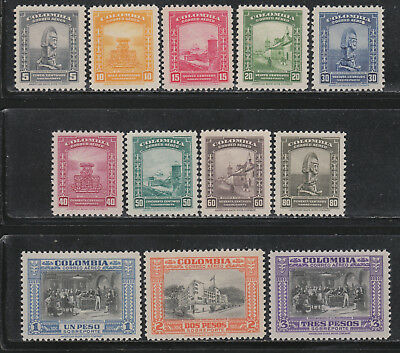 Colombia #C121-132 MNH 1941 Pictorial Definitives NICE! Cat$36.90++