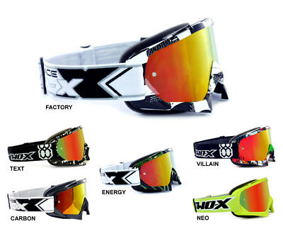 TWO-X Race Crossbrille iridium rot gelb verspiegelt