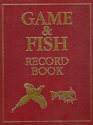 Game and Fish Record Book, McPhail, Rodger