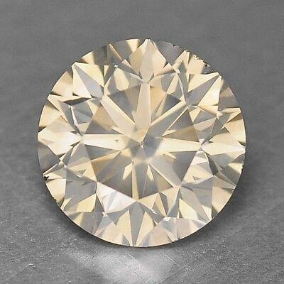 0.91 Cts SPARKLING RARE QUALITY GREENISH YELLOW NATURAL DIAMONDS- SI1