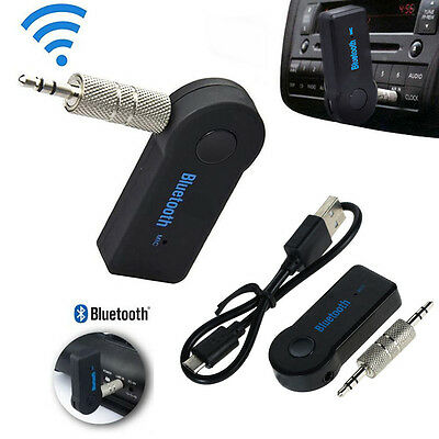 3.5mm Car Wireless Bluetooth Hands-free Aux Audio Stereo Music Receiver Adapter