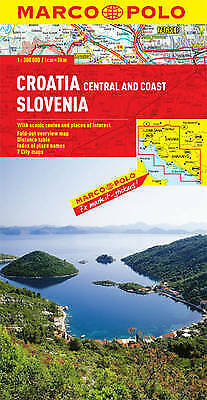 Croatia / Slovenia Marco Polo Map, ,