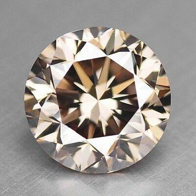 0.69 Cts UNTREATED RARE PINKISH BROWN COLOR NATURAL LOOSE DIAMONDS- VS2