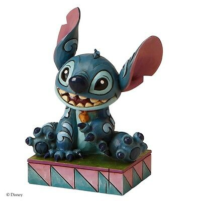 Disney Traditions Fun Ohana Means Family Stitch Ornament Resin Figurine Gift Box