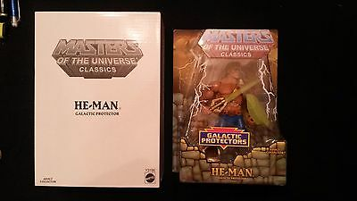 HE-MAN NA GALACTIC PROTECTOR Masters of the Universe MOTUC CLASSICS  NUOVO