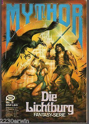 MYTHOR Fantasy Nr. 5 / (1980-1986 Pabel) / DIE LICHTBURG