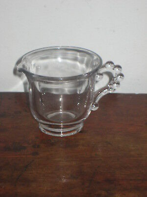 Canadian Glass Jug Early 20Th Century
