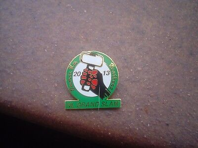 Cradley Heath  2013 N.l. Grand Slam   Speedway   Badge  Mint Con In Gold