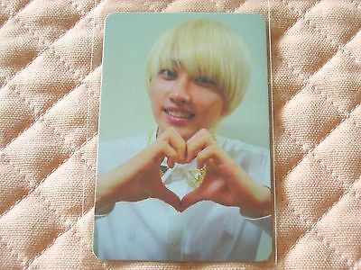 (ver. Eunhyuk) Super Junior 5th Album Mr.Simple Photocard KPOP