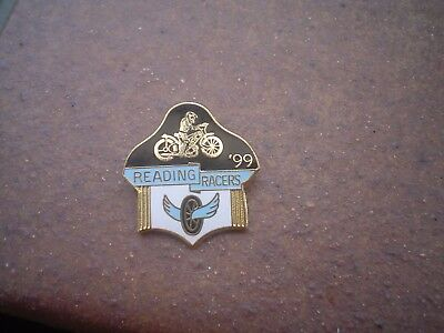 Reading 1999    Speedway   Badge  Mint Con In Gold