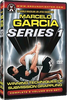 Marcelo Garcia Series 1: New Brazilian Jiu-Jitsu DVDs!