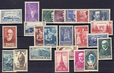 FRANCE , very nice lot ONLY better SEMI CLASSIC STAMPS , MH !