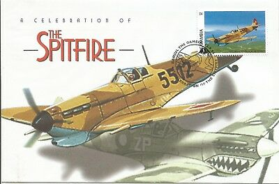 Arcade 50p A Nice Gambia 1996 Spitfire Celebration cover
