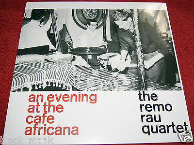 The Remo Rau Quartet An Evening At The Cafe Africana Sonorama Lp New & Sealed!