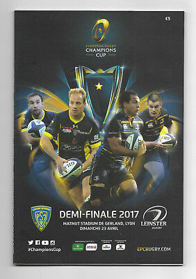 2017 European Rugby Champions Cup Semi Final - CLERMONT AUVERGNE v. LEINSTER