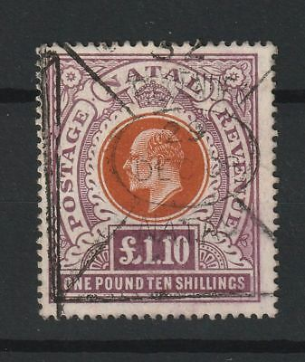 Natal 1904 SG # 162 fiscally used
