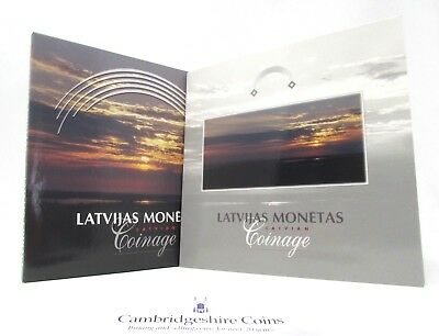 1992 Brilliant Uncirculated Latvian 8 Coin Year Set