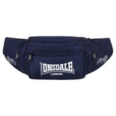 Lonsdale Hip One Size Navy   Grey