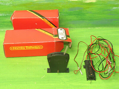 2x Hornby R663 Point Remote Control Sets (Point Motor, lever & wiring) - OO