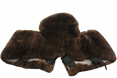 Genuine Merino Sheepskin Western Saddle Seat Saver With Extra long Flap 207