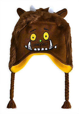 Boys Gruffalo Hat New Kids Baby Girls Toggle Winter Fleece Hats Brown 1 - 3 Yrs