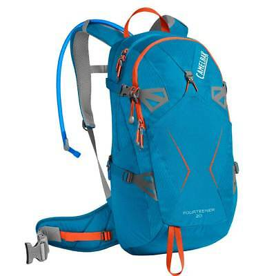 Camelbak Fourteener 17 Liters Grecian Blue   Pumpkin