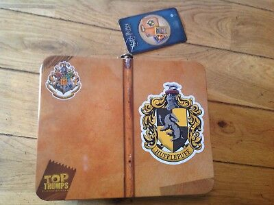 Harry Potter Hufflepuff -  Top Trumps  - Collectors Tin with  Card Game - New