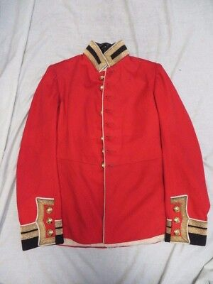 Original Pre Ww 1 Staff Officers Scarlet Dress Tunic